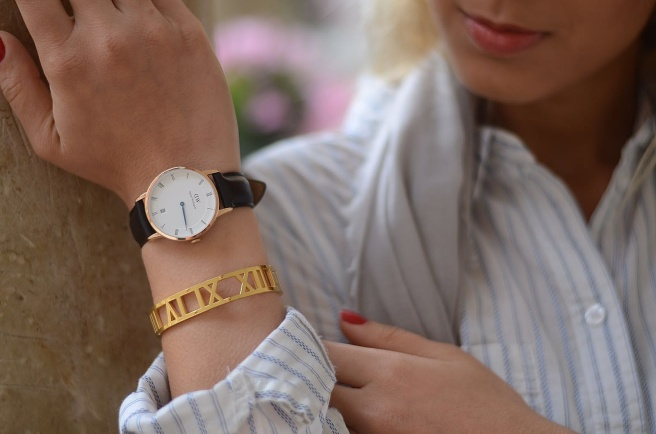 Daniel Wellington Uhr gold